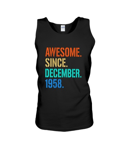 AWESOME SINCE DECEMBER 1958