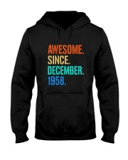 AWESOME SINCE DECEMBER 1958 Hooded Sweatshirt thumbnail