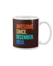 AWESOME SINCE DECEMBER 1958 Mug thumbnail