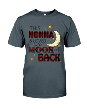 LOVE TO THE MOON AND BACK NONNA VERSION Classic T-Shirt tile