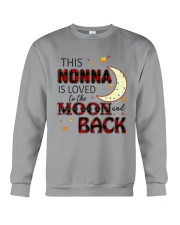 LOVE TO THE MOON AND BACK NONNA VERSION Crewneck Sweatshirt thumbnail