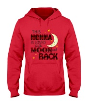 LOVE TO THE MOON AND BACK NONNA VERSION Hooded Sweatshirt thumbnail