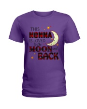 LOVE TO THE MOON AND BACK NONNA VERSION Ladies T-Shirt thumbnail