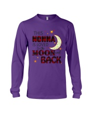 LOVE TO THE MOON AND BACK NONNA VERSION Long Sleeve Tee thumbnail