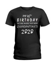 THE 45TH BIRTHDAY IN 2020 Ladies T-Shirt thumbnail