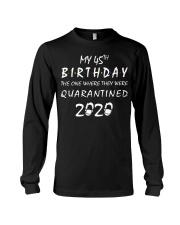 THE 45TH BIRTHDAY IN 2020 Long Sleeve Tee thumbnail