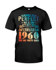 BIRTHDAY GIFT FEB1960 Classic T-Shirt front