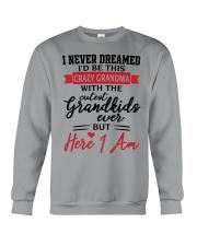 THE CRAZY GRANDMA Crewneck Sweatshirt thumbnail