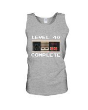 GAME COMPLETE 40 Unisex Tank thumbnail