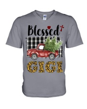 BLESSED GIGI V-Neck T-Shirt thumbnail