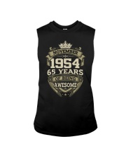HAPPY BIRTHDAY NOVEMBER 1954 Sleeveless Tee thumbnail