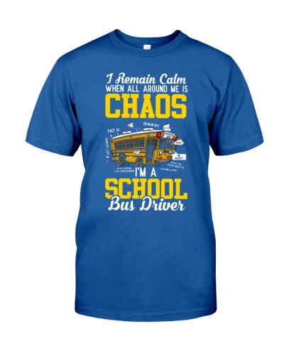 SCHOOL BUS DRIVERS REMAIN CALM IN CHAOS