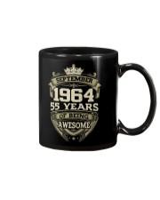 HAPPY BIRTHDAY SEPTEMBER 1964 Mug thumbnail