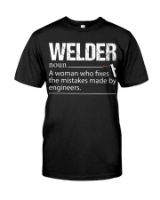WELDERS FIX THE MISTAKES Classic T-Shirt front