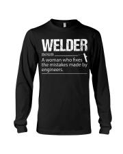 WELDERS FIX THE MISTAKES Long Sleeve Tee thumbnail