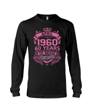 Happy Birthday April 1960 Long Sleeve Tee thumbnail