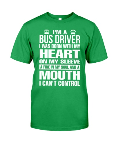 BUS DRIVER CAN'T CONTROL MOUTH