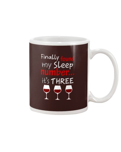 MY SLEEP NUMBER 3 CUPS