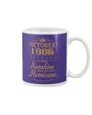 OCTOBER 1986 OF BEING SUNSHINE AND HURRICANE Mug thumbnail
