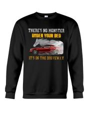 MONSTER IN THE DRIVEWAY MUSTANG Crewneck Sweatshirt thumbnail