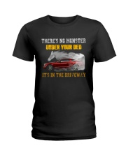 MONSTER IN THE DRIVEWAY MUSTANG Ladies T-Shirt thumbnail