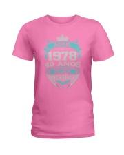 REGALO PARA TI ABRIL78 Ladies T-Shirt front