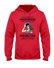 POSSIBILITIES ARE ENDLESS Hooded Sweatshirt thumbnail