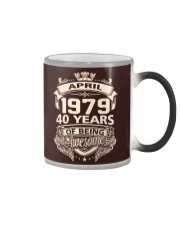 HAPPY BIRTHDAY APRIL 1979 Color Changing Mug thumbnail