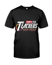 END YEAR FOURTH GRADE Classic T-Shirt front