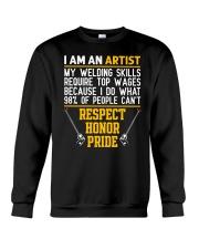 WELDER IS AN ARTIST Crewneck Sweatshirt thumbnail