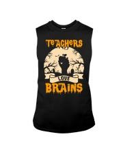 TEACHERS LOVE BRAINS Sleeveless Tee thumbnail