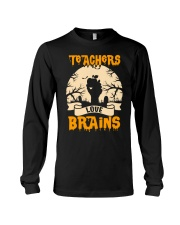 TEACHERS LOVE BRAINS Long Sleeve Tee thumbnail