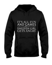 SWEDISH GIRL GETS ANGRY  Hooded Sweatshirt thumbnail