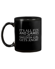 SWEDISH GIRL GETS ANGRY  Mug back