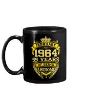 HAPPY BIRTHDAY FEB 1964 Mug back