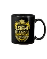 HAPPY BIRTHDAY FEB 1964 Mug front
