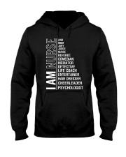 I AM NURSE Hooded Sweatshirt thumbnail