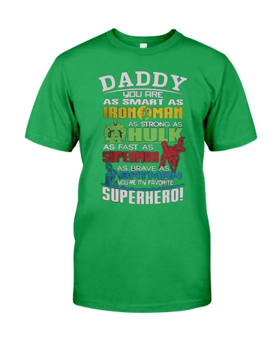 DADDY YOU ARE SUPERHERO