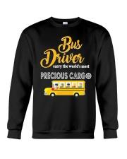 BUS DRIVERS CARRY THE MOST PRECIOUS CARGO Crewneck Sweatshirt thumbnail