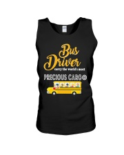 BUS DRIVERS CARRY THE MOST PRECIOUS CARGO Unisex Tank thumbnail