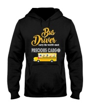 BUS DRIVERS CARRY THE MOST PRECIOUS CARGO Hooded Sweatshirt thumbnail
