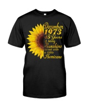 HAPPY BIRTHDAY 1973 45 YEARS Classic T-Shirt front
