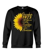 HAPPY BIRTHDAY 1973 45 YEARS Crewneck Sweatshirt thumbnail
