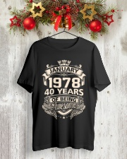 Tue January 78 Classic T-Shirt lifestyle-holiday-crewneck-front-2