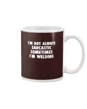 I'M NOT ALWAYS SARCASTIC Mug thumbnail