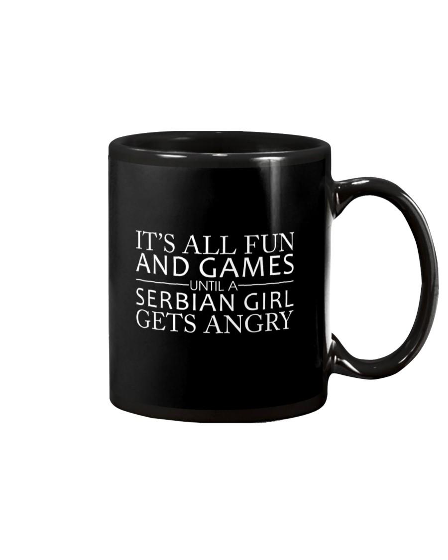 SERBIAN GIRL GETS ANGRY Mug
