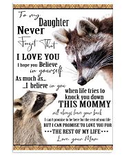 New blanket design for your daughter 11x17 Poster thumbnail