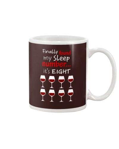 MY SLEEP NUMBER 8 CUPS