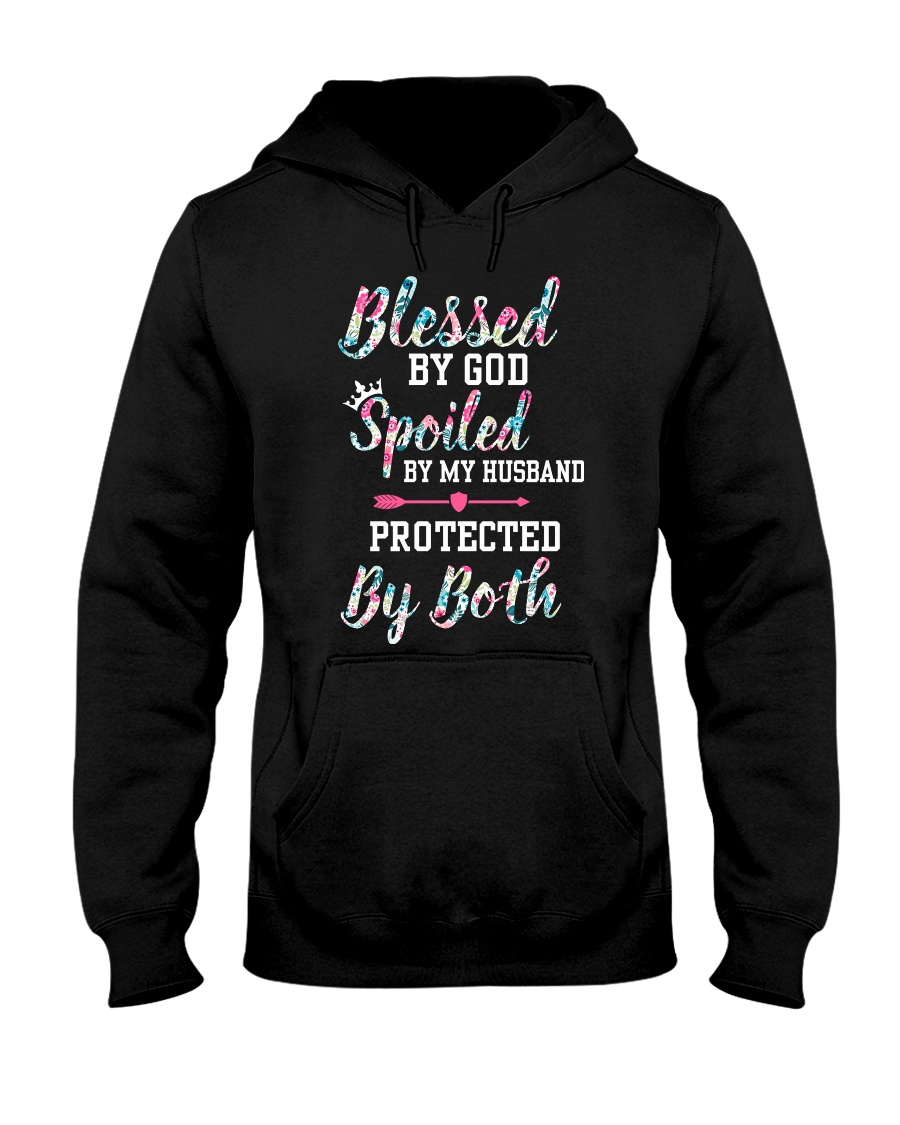 SPOILED BY MY HUSBAND Hooded Sweatshirt
