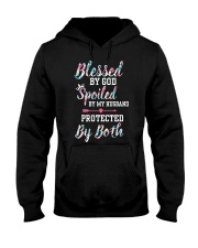 SPOILED BY MY HUSBAND Hooded Sweatshirt front